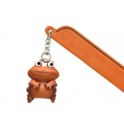 Frog Leather Charm Bookmarker