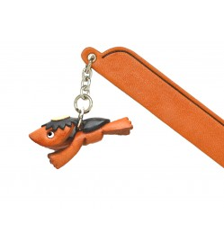 River Sprite Leather Charm Bookmarker