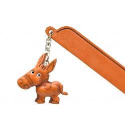 Donkey Leather Charm Bookmarker