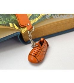 Sneaker Leather Charm Bookmarker