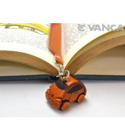 Minicar Leather Charm Bookmarker