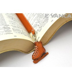 Skate shoe Leather Charm Bookmarker