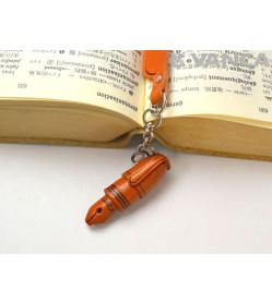 Fountain pen Leather Charm Bookmarker