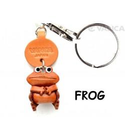 Frog Japanese Leather Keychains Animal