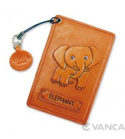 Elephant Leather Commuter Pass case/card Holders #26410