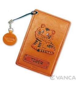 Tiger Leather Commuter Pass/Passcard Holders