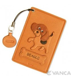 Beagle Leather Commuter Pass case/card Holders #26443