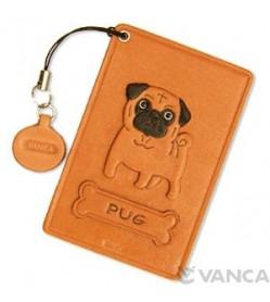 Pug Leather Commuter Pass/Passcard Holders