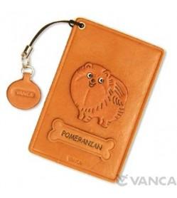 Pomeranian Leather Commuter Pass/Passcard Holders