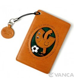 Soccer-C Leather Commuter Pass/Passcard Holders