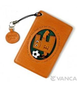 Soccer-E Leather Commuter Pass/Passcard Holders