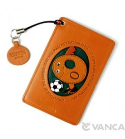 Soccer-O Leather Commuter Pass/Passcard Holders