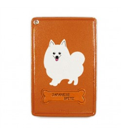 Japanese Spitz Leather Commuter Pass/Passcard Holders