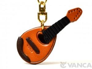Mandolin Leather Keychain(L)