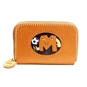 Soccer M Handmade Genuine Leather Animal Business Card Case #26175