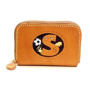 Soccer S Handmade Genuine Leather Animal Business Card Case #26179