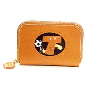 Soccer T Handmade Genuine Leather Animal Business Card Case #26180