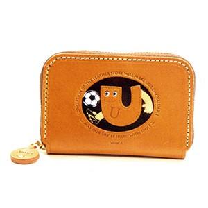 Soccer U Handmade Genuine Leather Animal Business Card Case #26181
