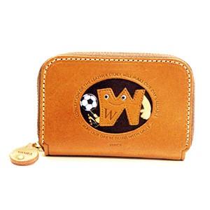 Soccer W Handmade Genuine Leather Animal Business Card Case #26182