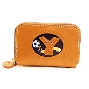 Soccer Y Handmade Genuine Leather Animal Business Card Case #26183