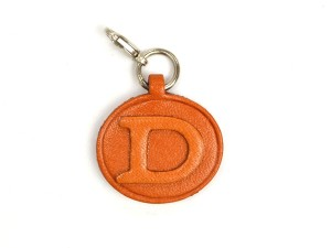 D Leather Alphabet Plate