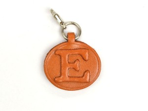 E Leather Alphabet Plate