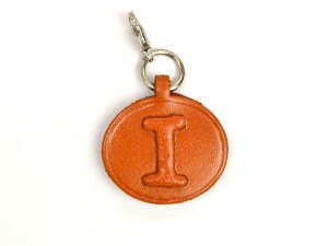 I Leather Alphabet Plate