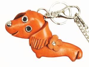 Dachshund Handmade Leather Dog/Animal Bag Charm