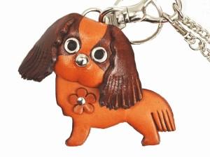Cavalier kc Spaniel Handmade Leather Dog/Bag Charm