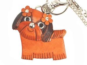 Shih tzu Handmade Leather Dog/Bag Charm
