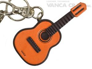 Guitar Handmade Leather Goods/Bag Charm
