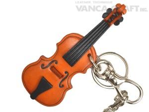 Violin Handmade Leather Goods/Bag Charm