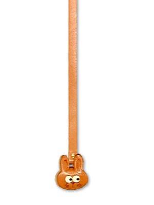 Rabbit Handmade Leather Animal Bookmark/Bookmarker
