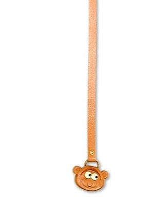 Monkey Handmade Leather Animal Bookmark/Bookmarker
